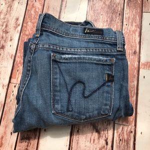 COH Low Rise Flare Jeans